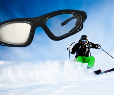 anti-fog sports glasses