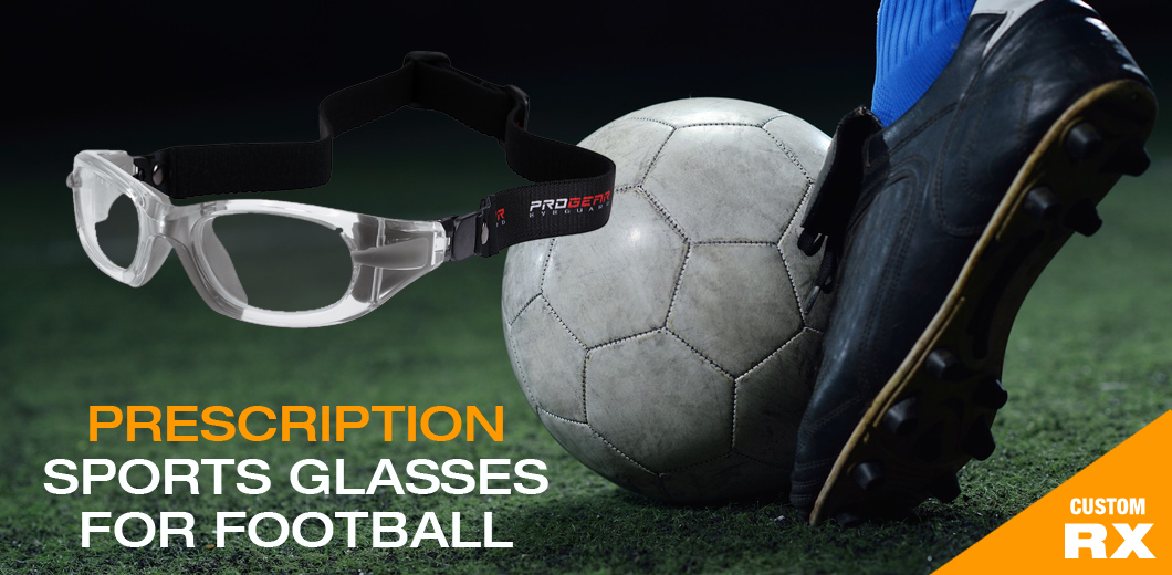 prescription football glasses